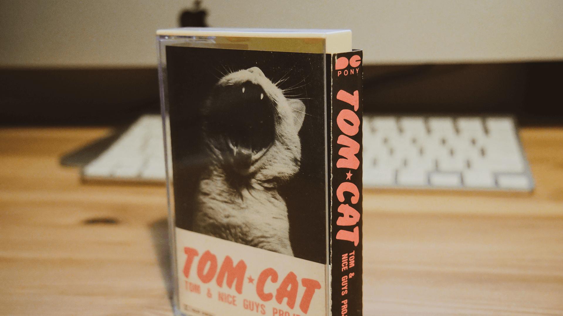 TOM CATのカセットテープジャケット