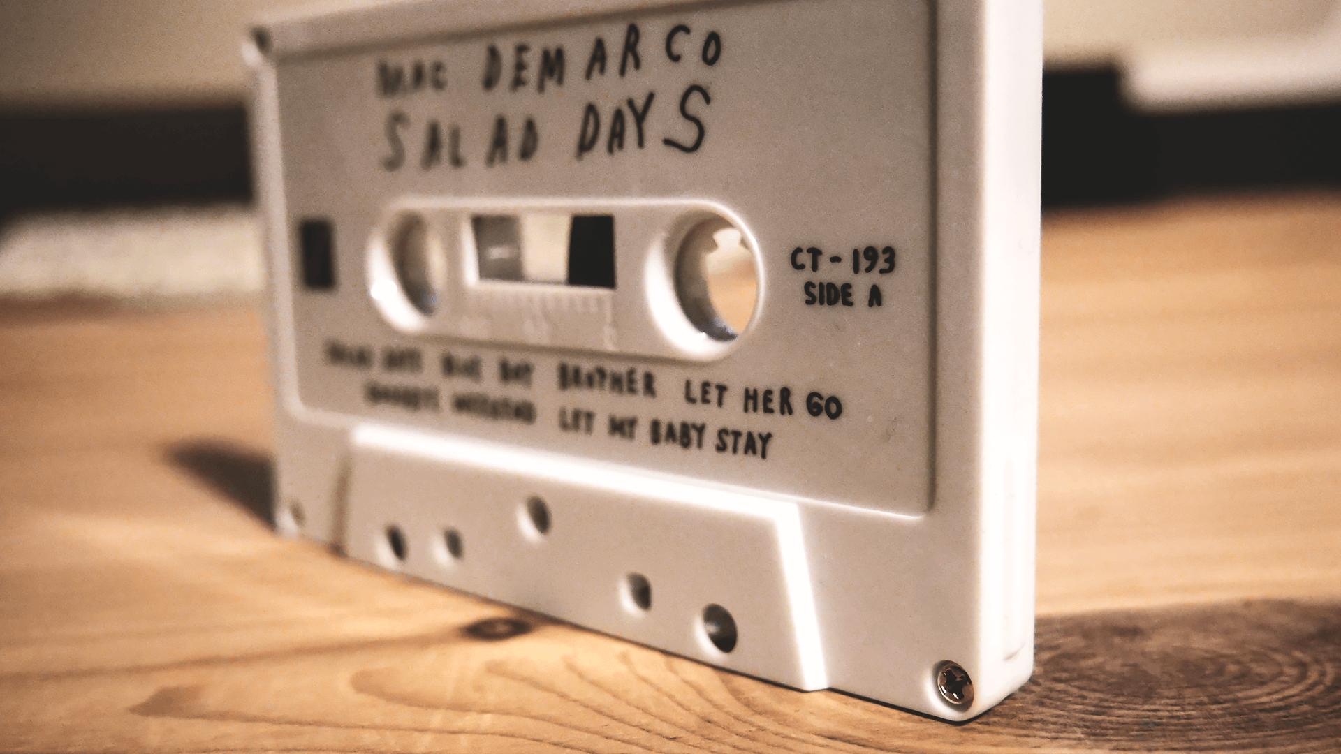 Salad Daysの白いカセットボディ
