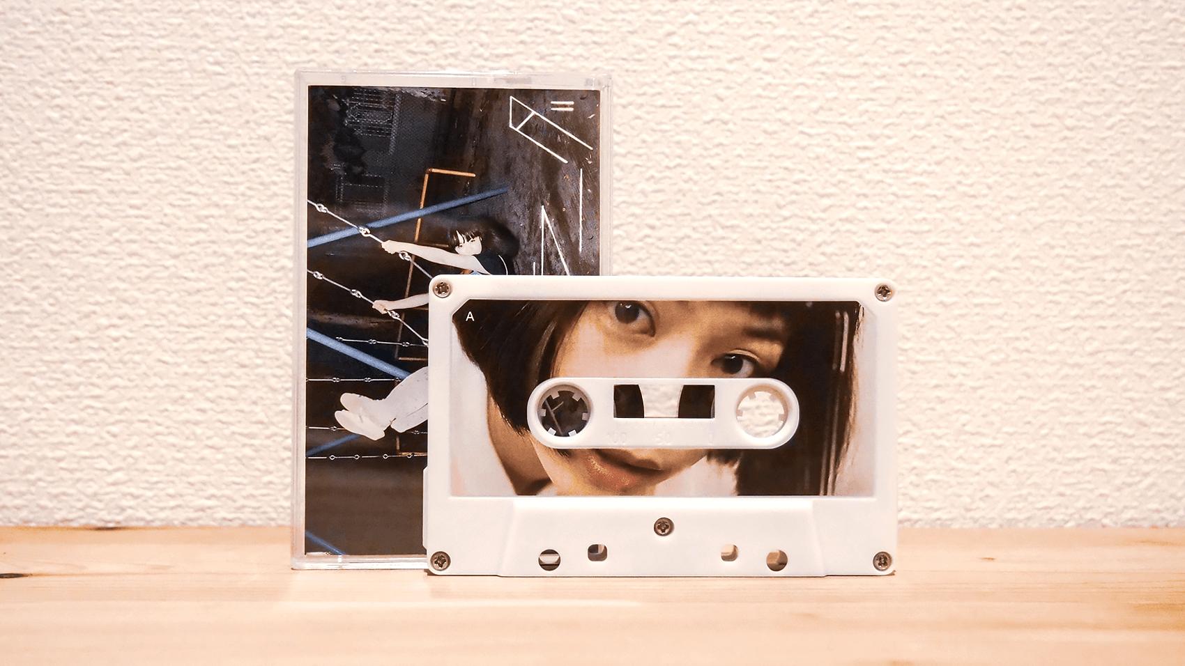銀杏BOYZのシングル集「ラストラーダ」のカセットテープ