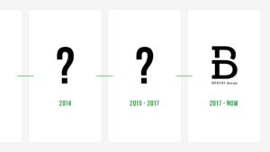 2012年から現在までのBUROKIロゴデザインの移り変わり