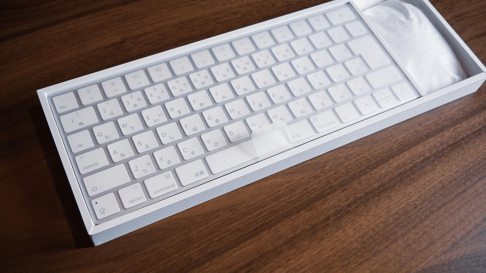 新しいキーボードとマウス