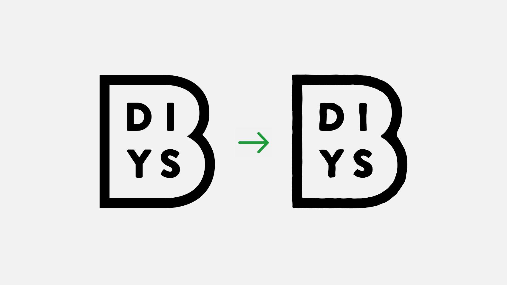 ロゴデザインに使える。illustratorで手描き風の味のあるオブジェクトに加工する方法