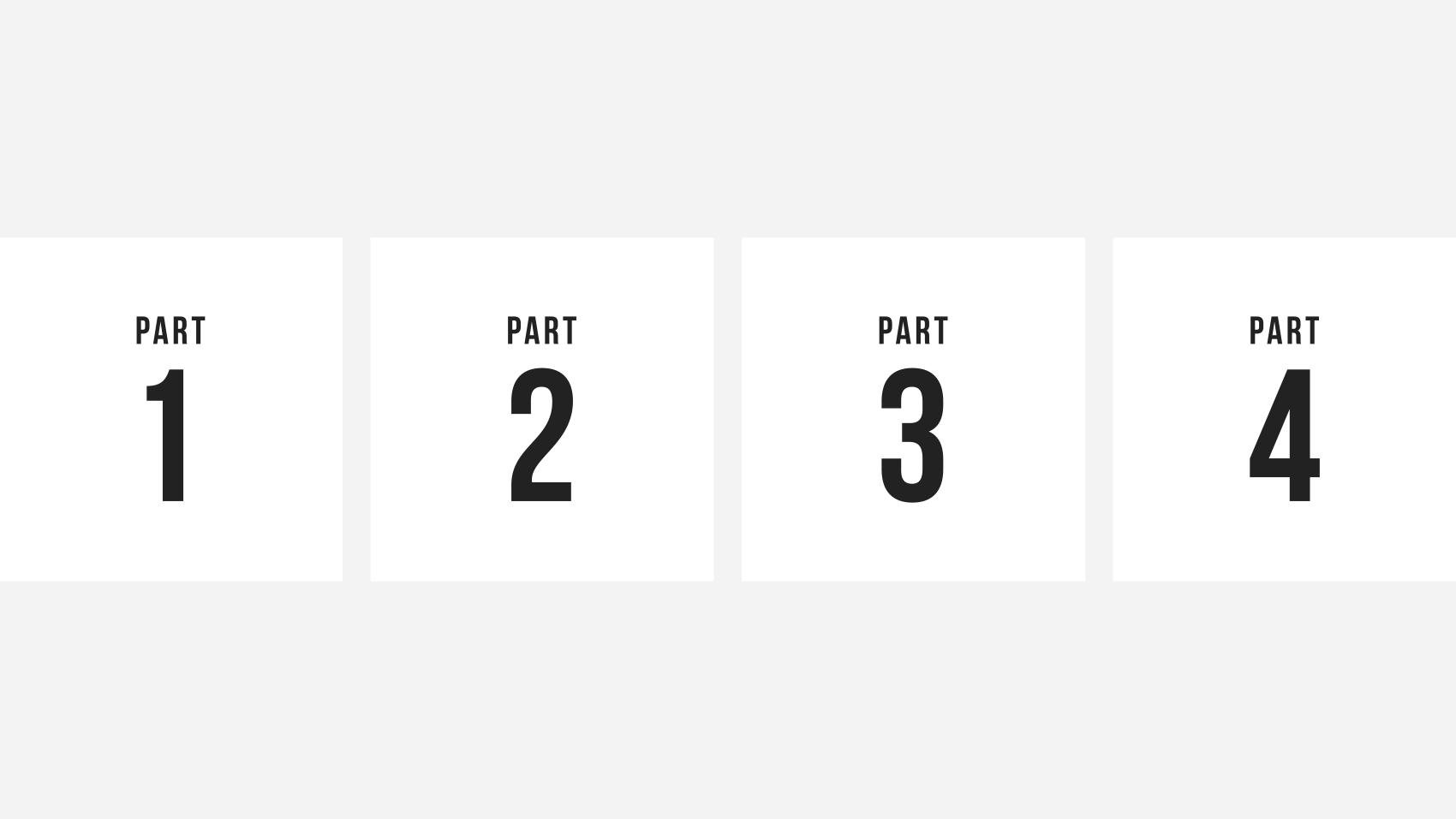 バリエーション1. 数字の上に配置