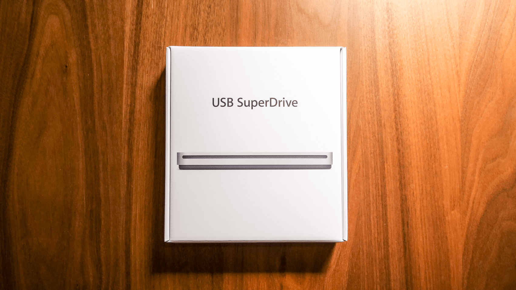 Apple USB SuperDriveのパッケージ