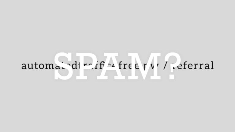 【要注意】サイトにデータ解析からの参照を狙う「リファラスパム」が大量発生した件
