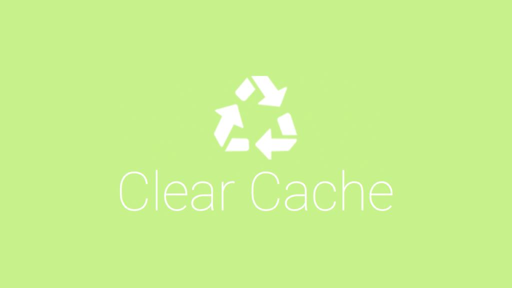 ワンクリックでキャッシュを削除できるchromeの「clear cache」が超便利!