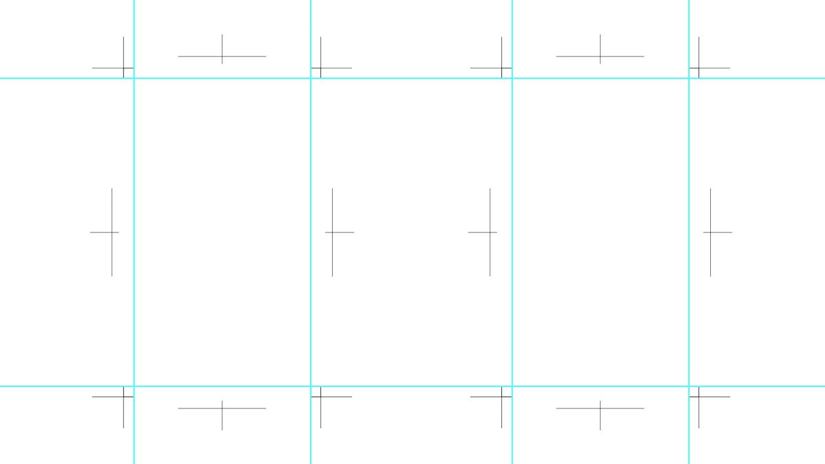 欧米サイズ・縦型のテンプレート