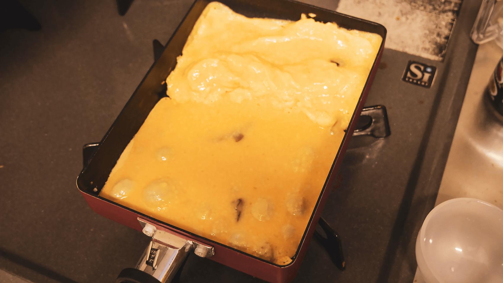 卵焼き器で焼くその1