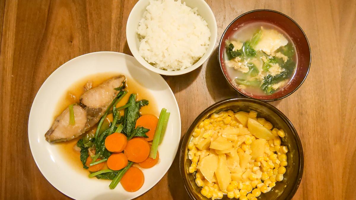 ブリと野菜のほっこりとろみ煮