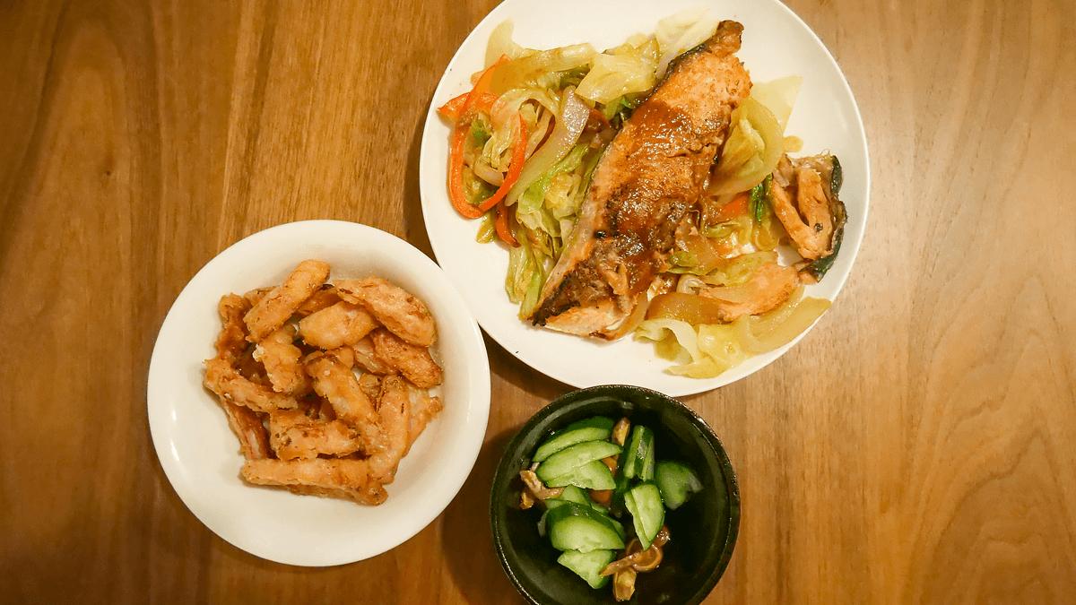 たっぷり野菜のちゃんちゃん焼き