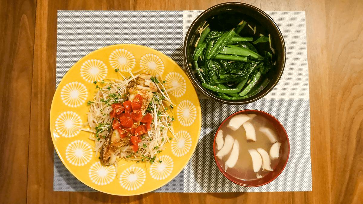 ちゃんとoisix 18周目の1日目の夕食