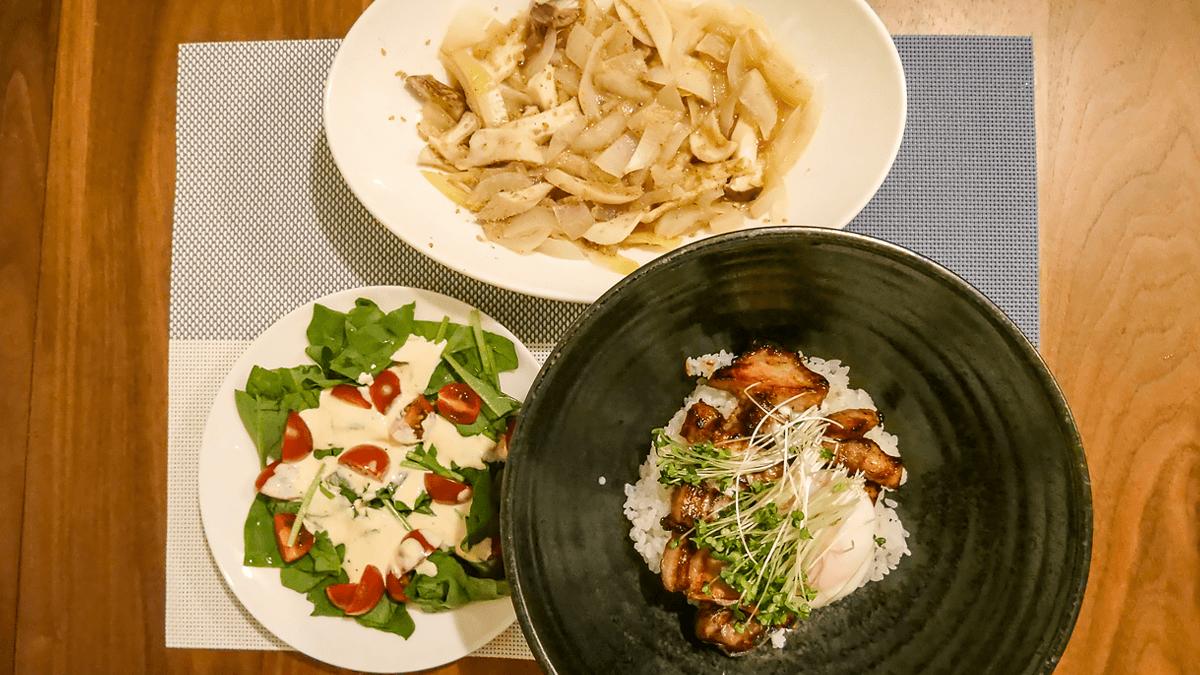 ちゃんとoisix 18周目の3日目の夕食