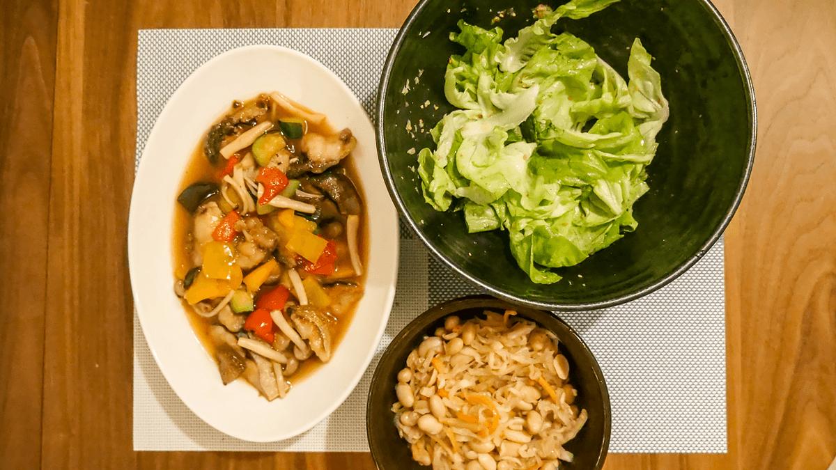 ちゃんとoisix 18周目の4日目の夕食