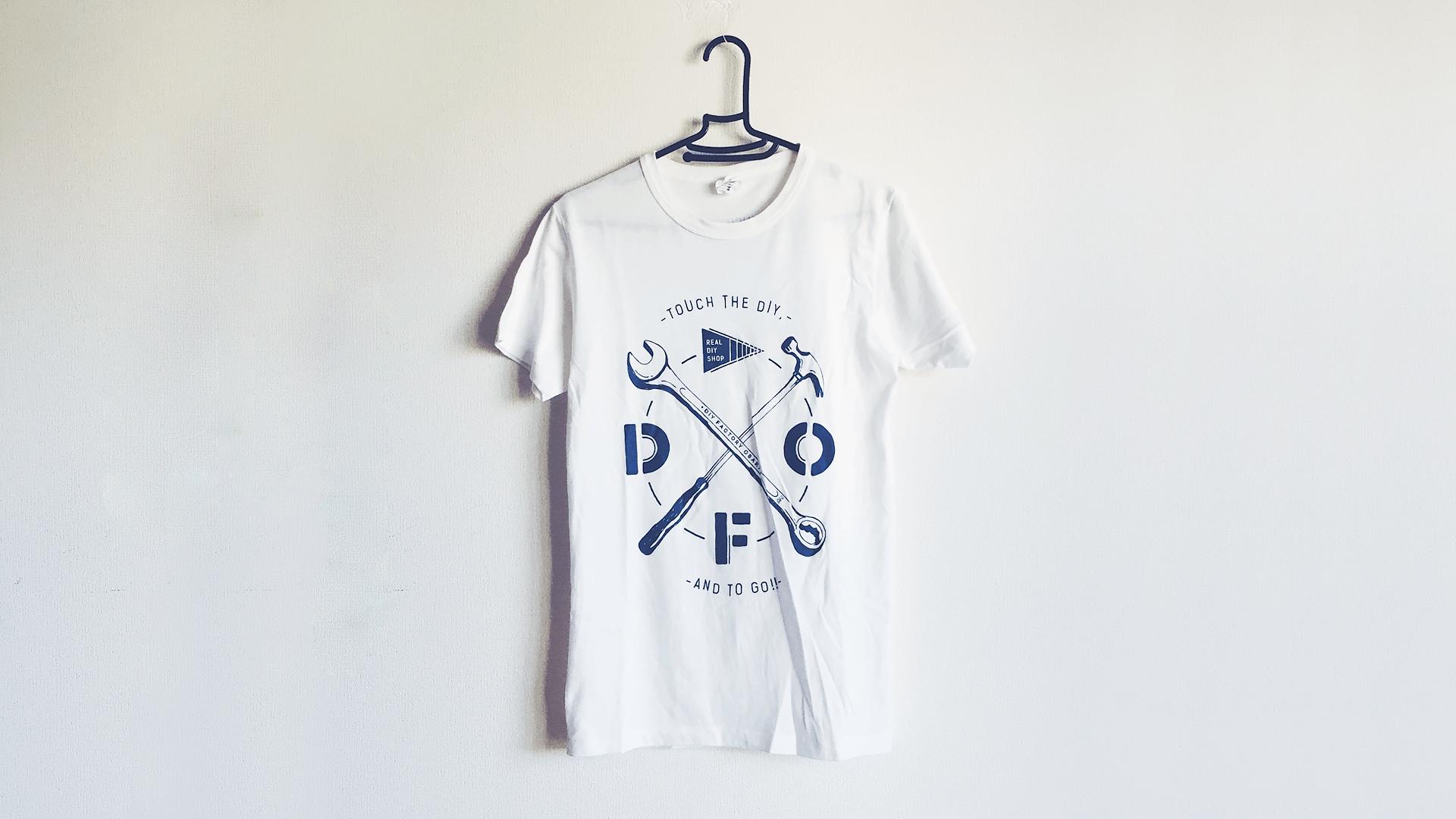 工具で表現するヴィンテージテイストのTシャツデザイン