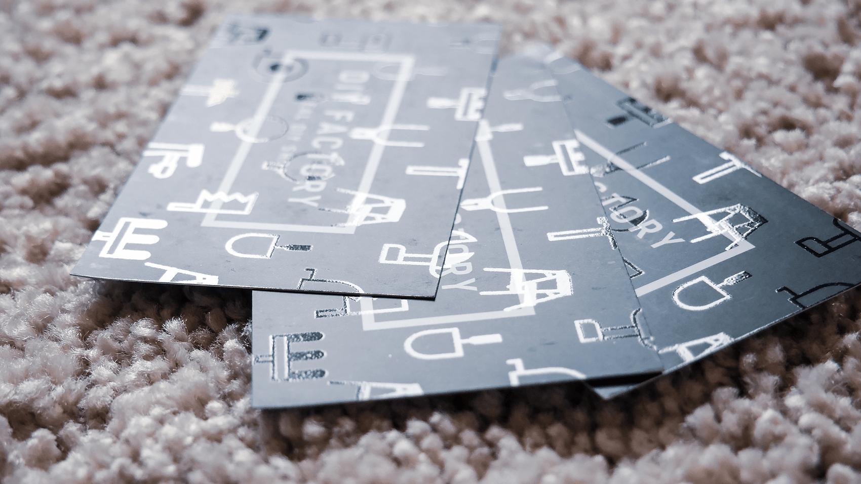 DIY FACTORYショップカード