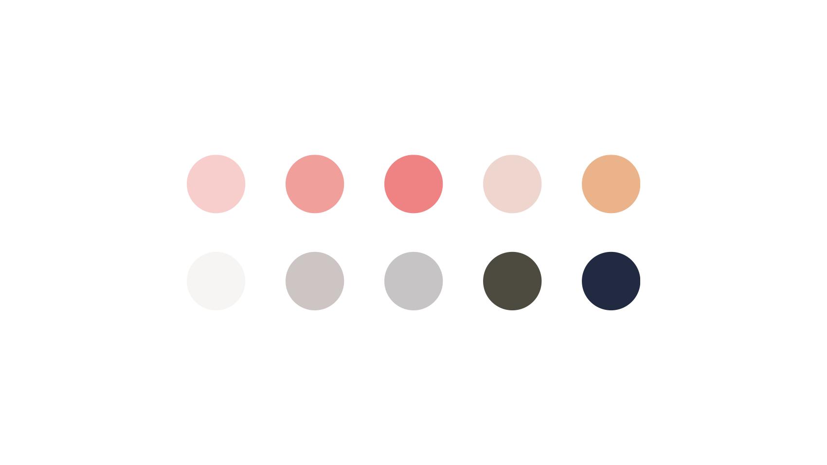 annaの使用カラー一覧