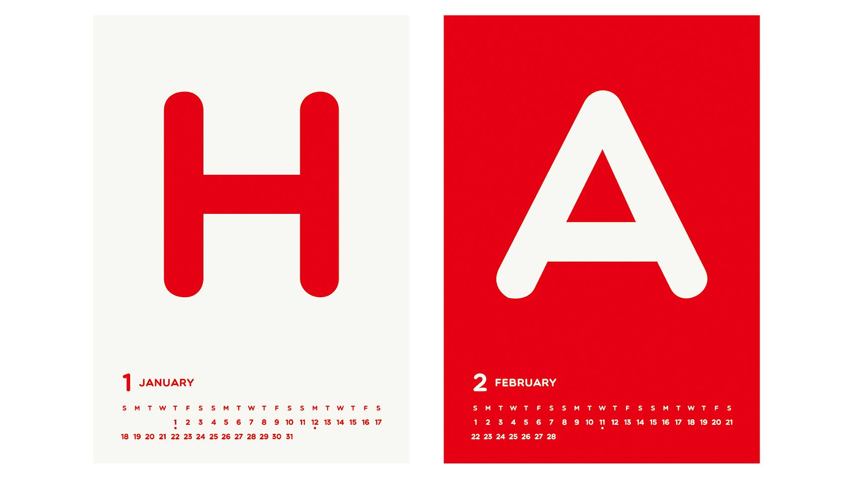 BUROKI design 2015年の年賀状デザイン