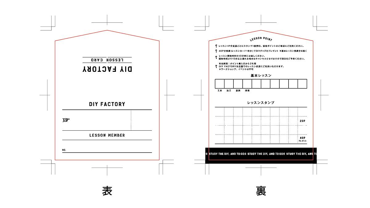 スタンプカードの入稿デザインデータ