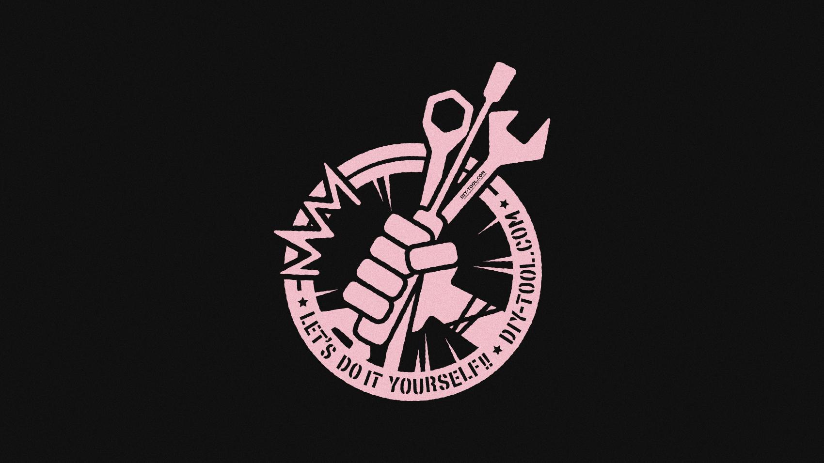 DIYをはじめる人に向けて。DO IT YOURSELF!!のロゴマークデザイン