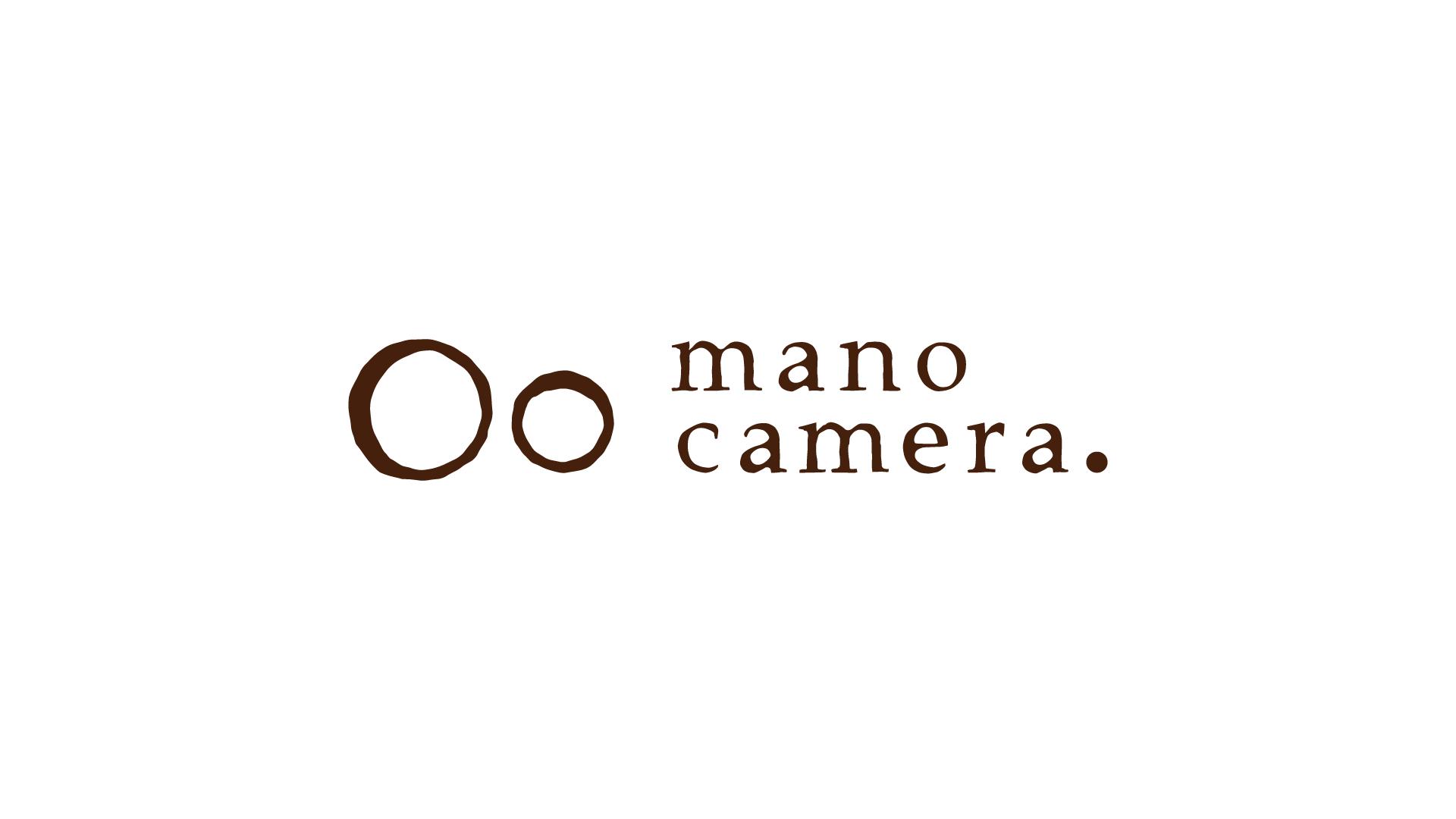マークで親子を伝える。カメラマンmano camera.のロゴデザイン