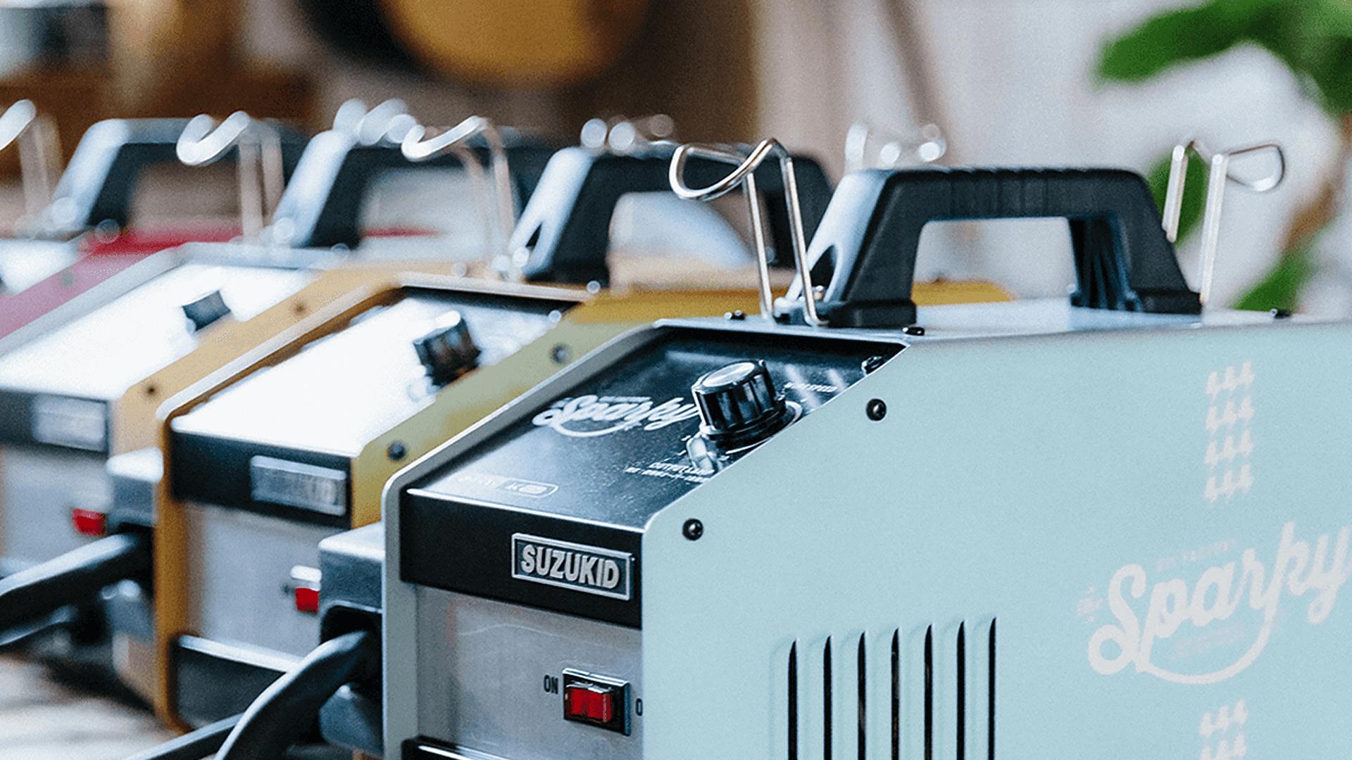 オリジナル溶接機sparky
