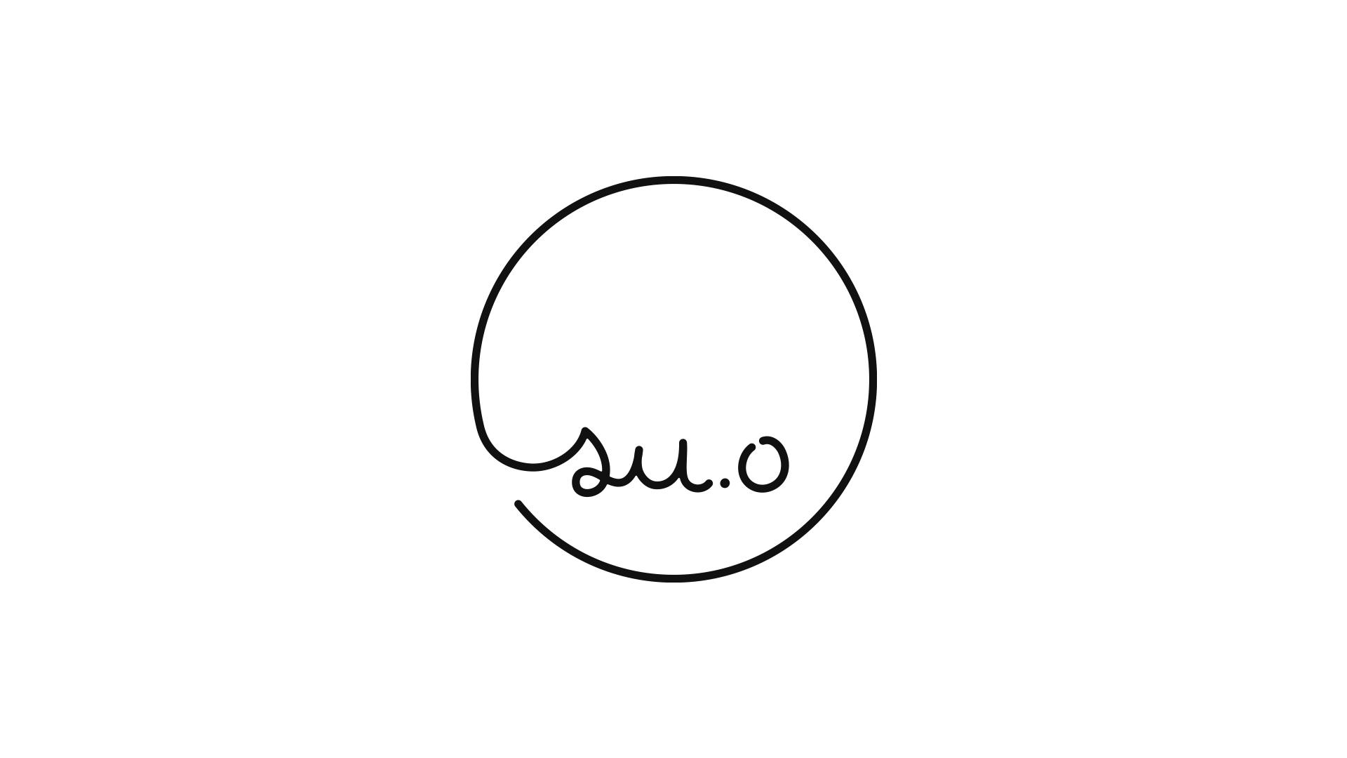 20代の若い世代に向けたアクセサリーブランド「su.o」のロゴデザイン