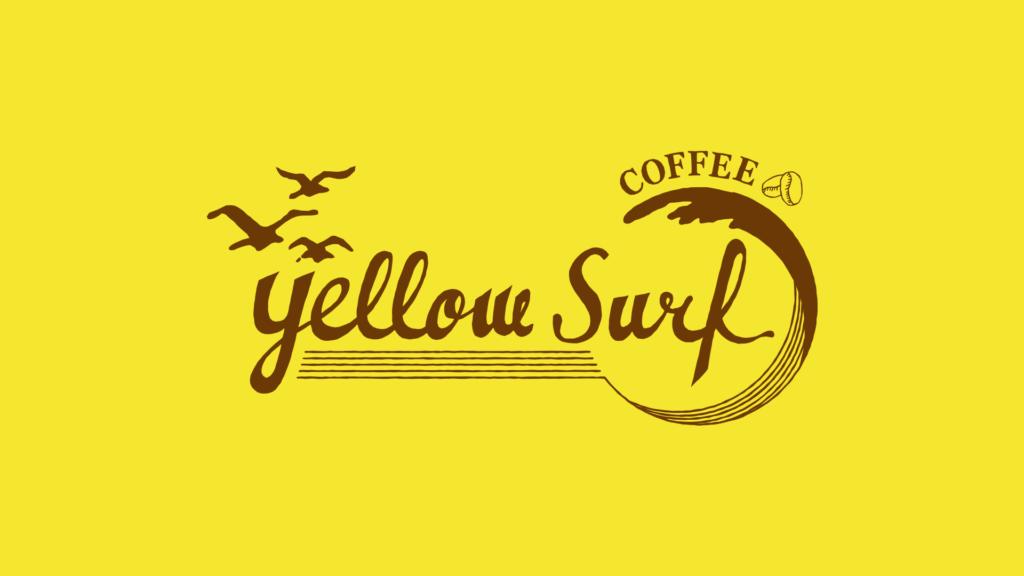 東京品川区にあるyellow surf coffeeさんのロゴデザイン