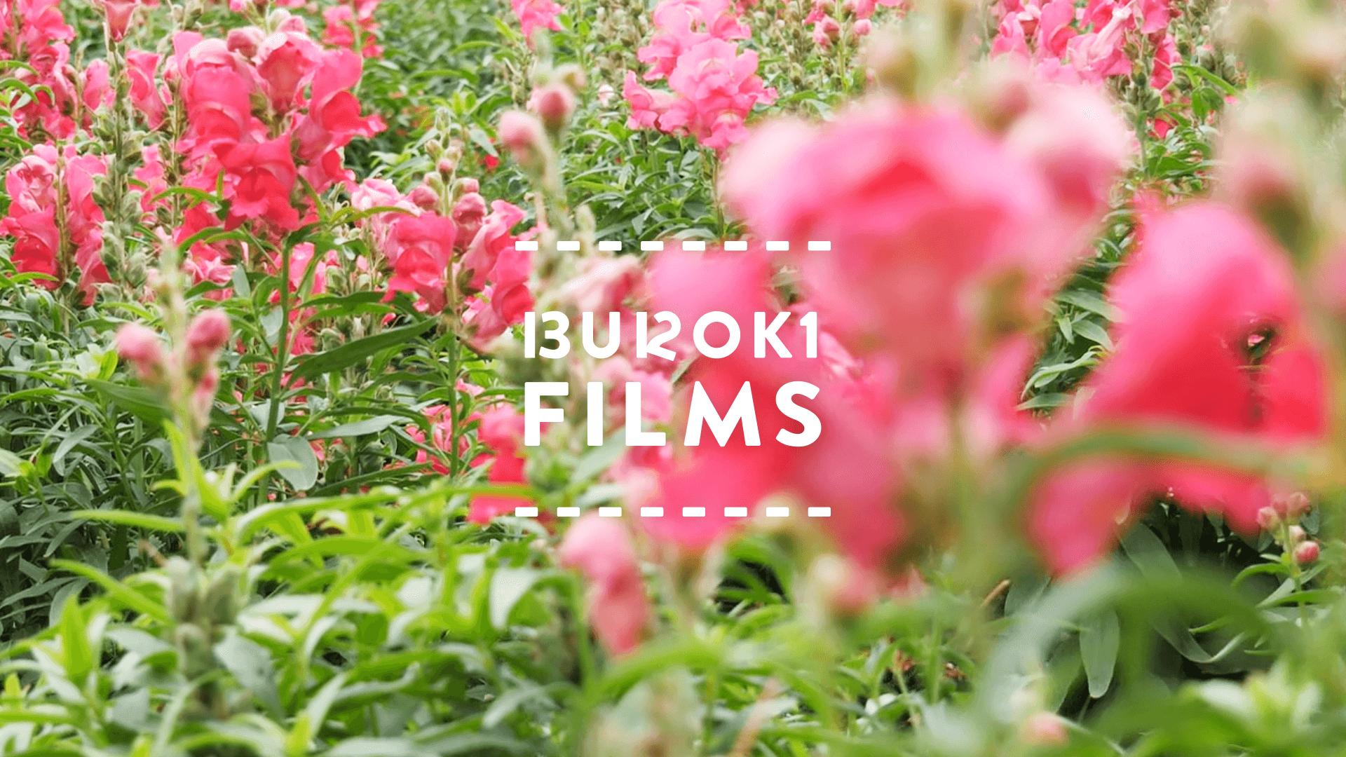 自分のYouTubeチャンネル「BUROKI films」のロゴデザイン