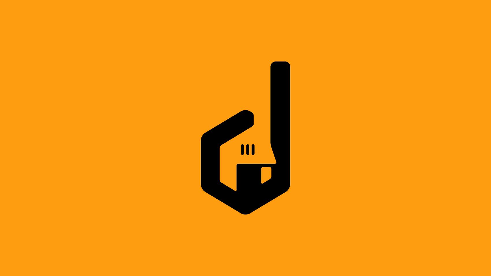 歴史とユーモアのある工具商社を伝えるロゴマークデザイン