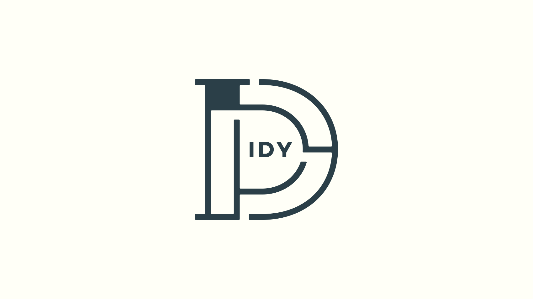 SNSを意識してロゴの特徴を際立たせる「IDY(アイディ)」のアイコンデザイン