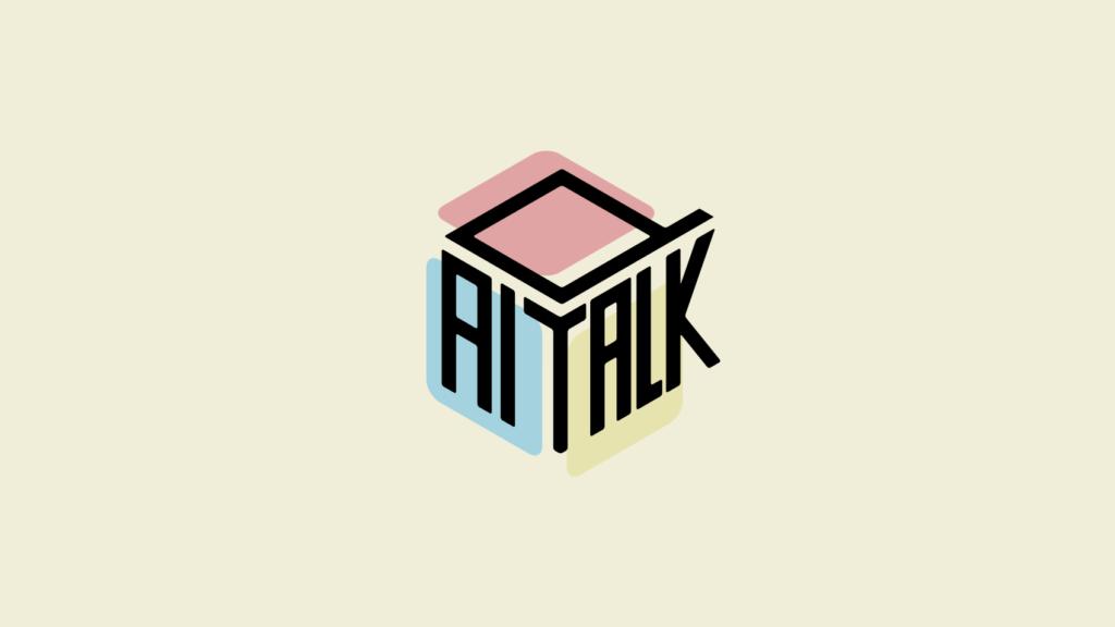 サイコロトークをもっと楽しむ!「ダイトーーク」のロゴデザイン