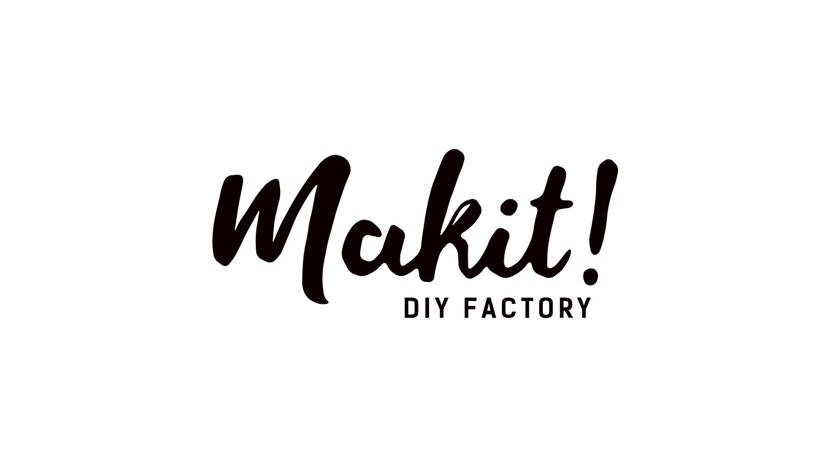 暮らしのwebメディアサイト「makit!(メキット)」のロゴデザイン