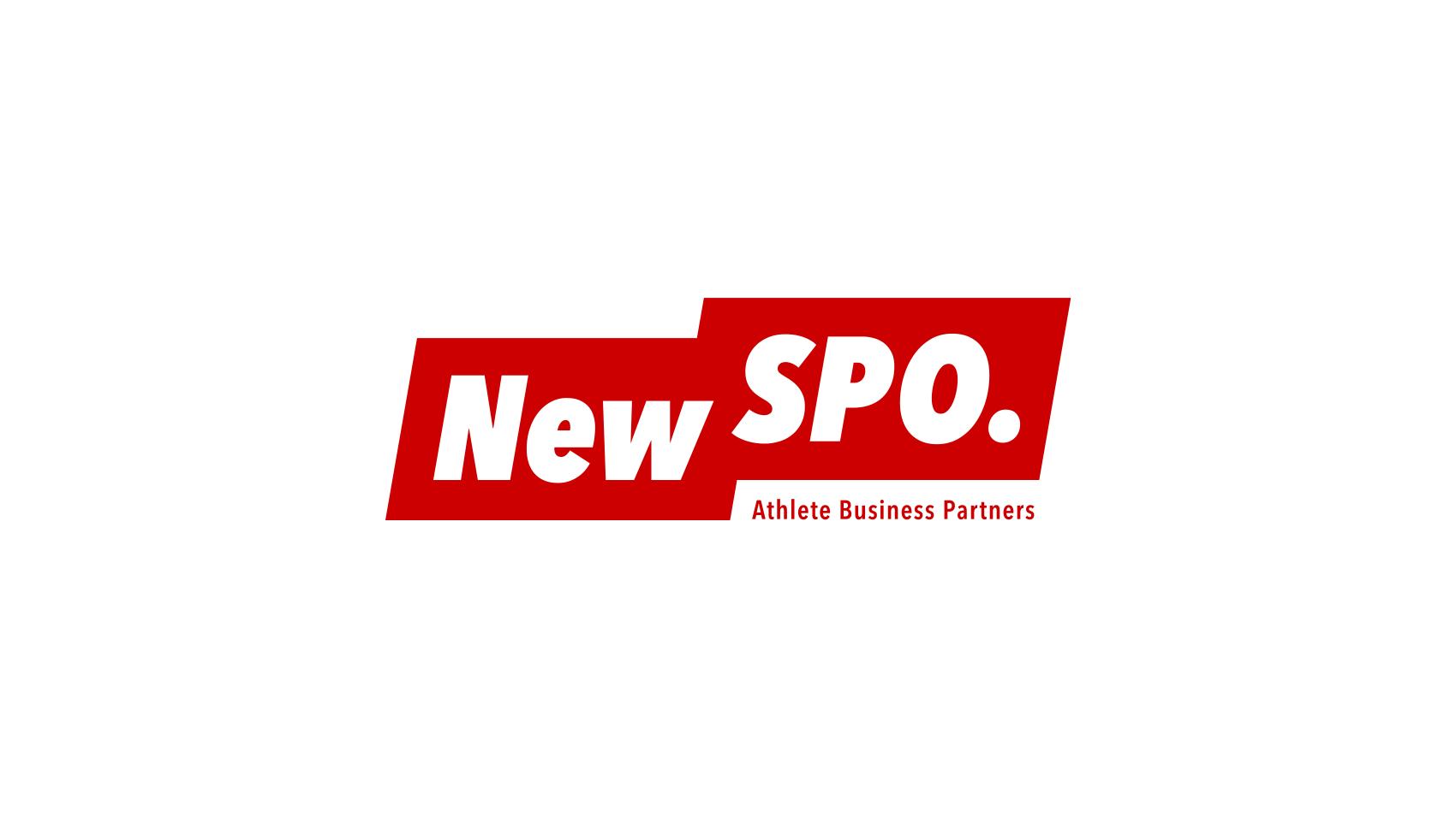 アスリートを支援・マネジメントする「株式会社NewSPO.」のロゴデザイン