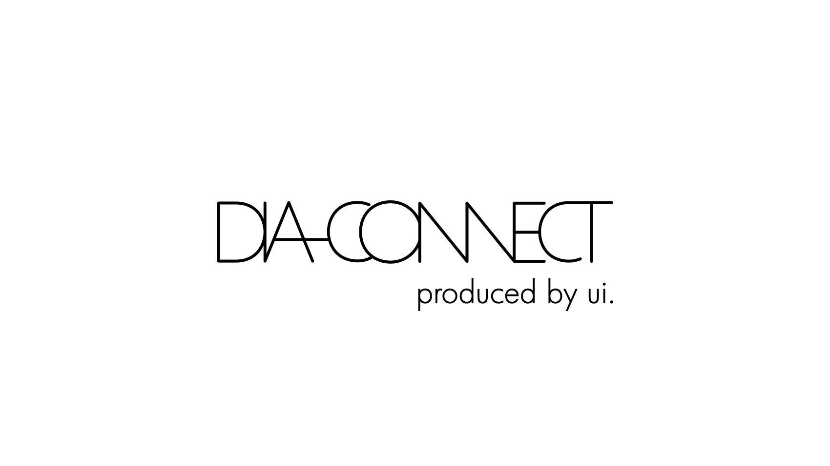 梅田ディアモールで開催されたDIA CONNECT(ディアコネクト)のロゴデザイン