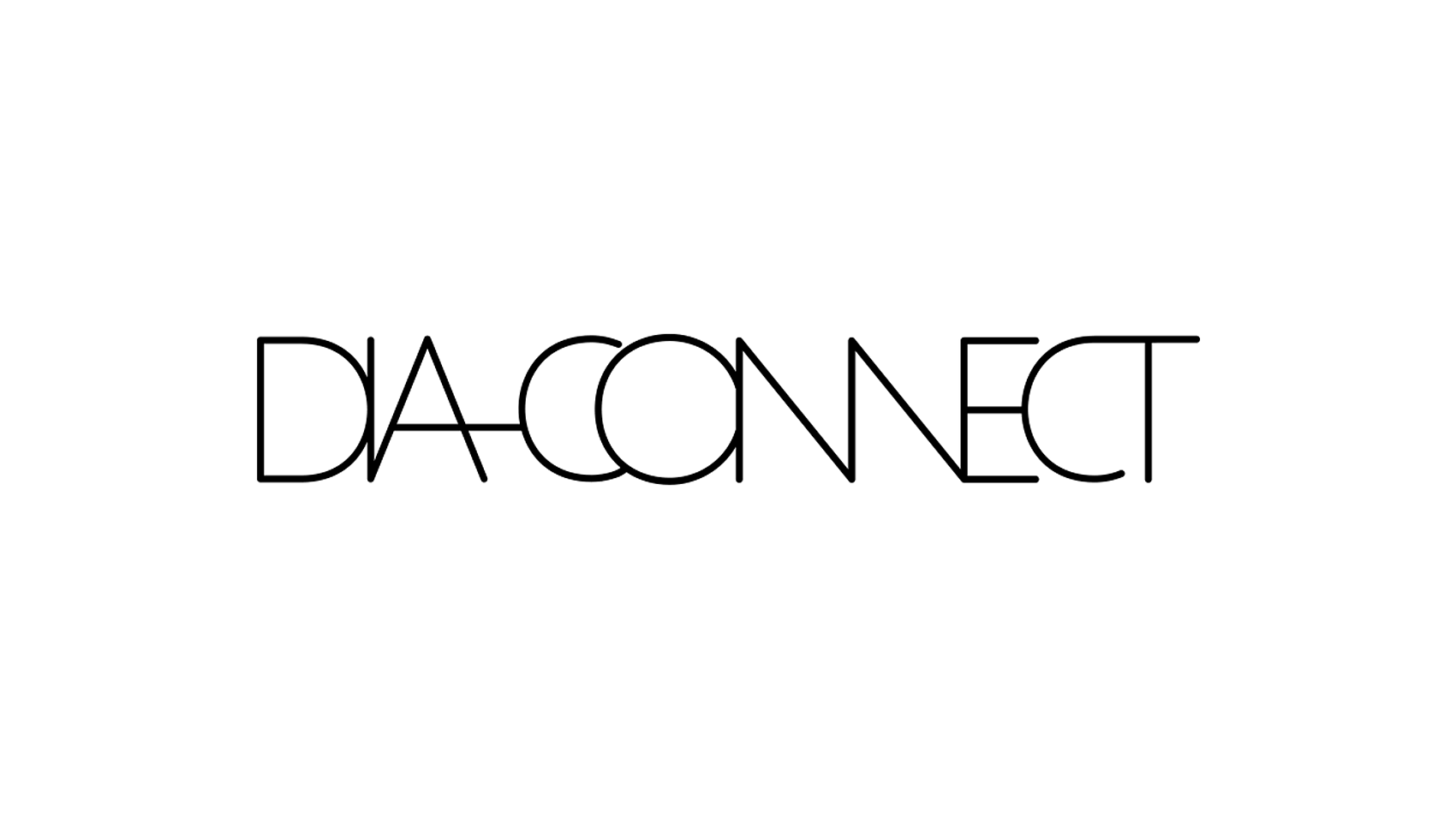 DIA CONNECTの文字のつながり