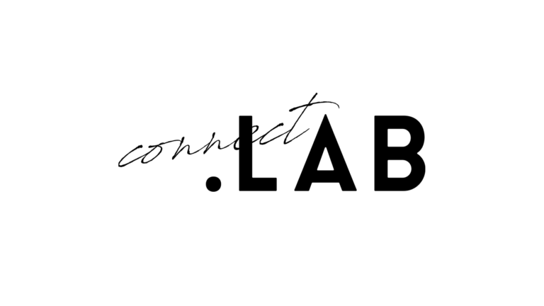 「connect.LAB(コネクトドットラボ)」のロゴデザイン