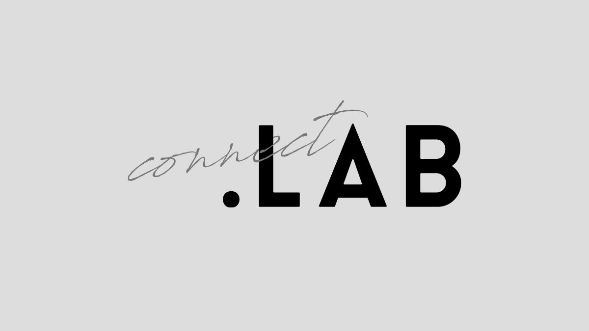 connect.LABの2色バージョンロゴ