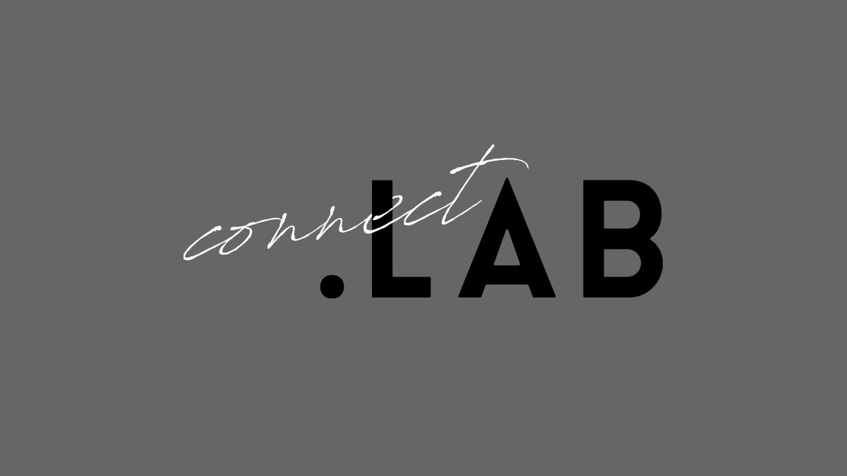 connect.LABの2色バージョンロゴその2