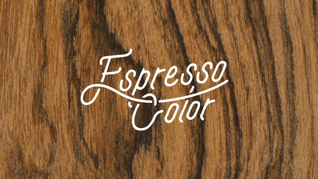 メーカーさんと共同開発したカフェ塗料のロゴデザイン
