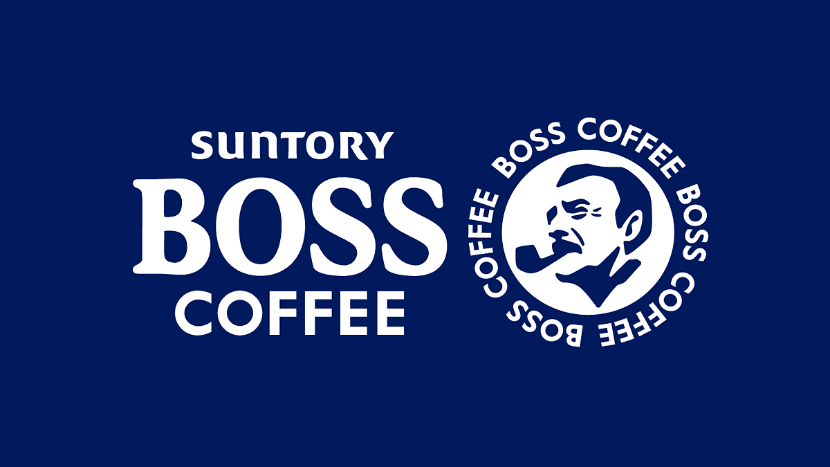 缶コーヒーBOSSのロゴデザイン