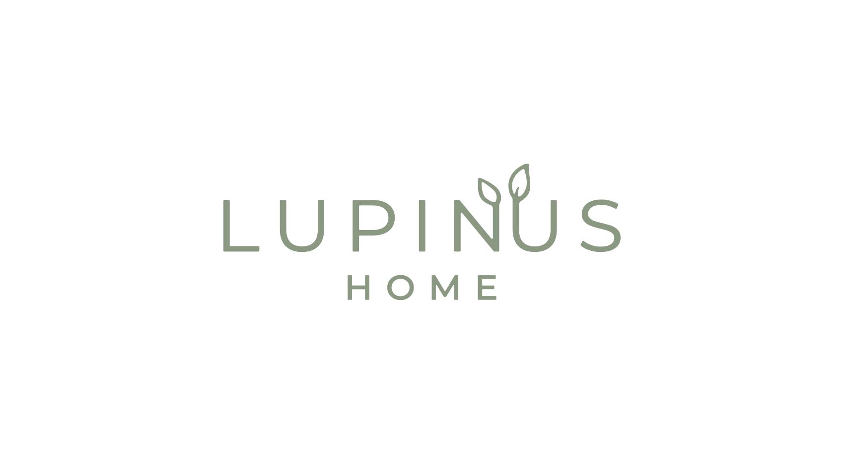 コンセプトを形に落とし込む。「LUPINUS HOME」のロゴデザイン