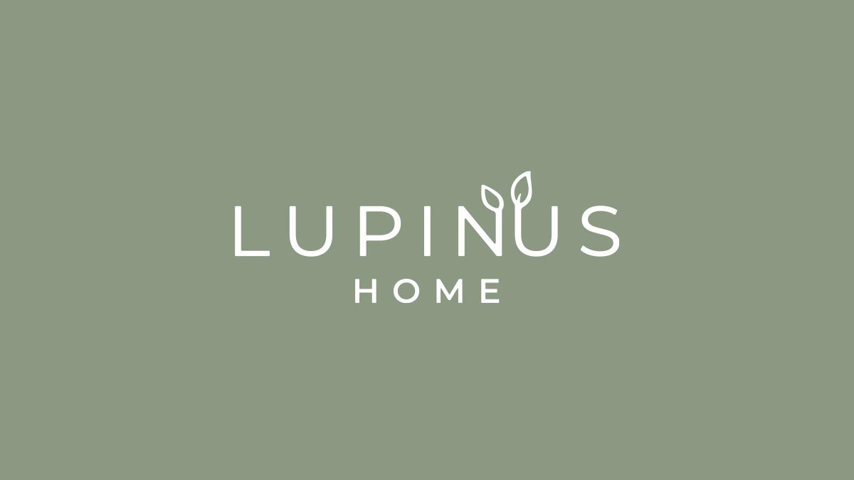 LUPINUS HOMEの白抜きロゴバージョン