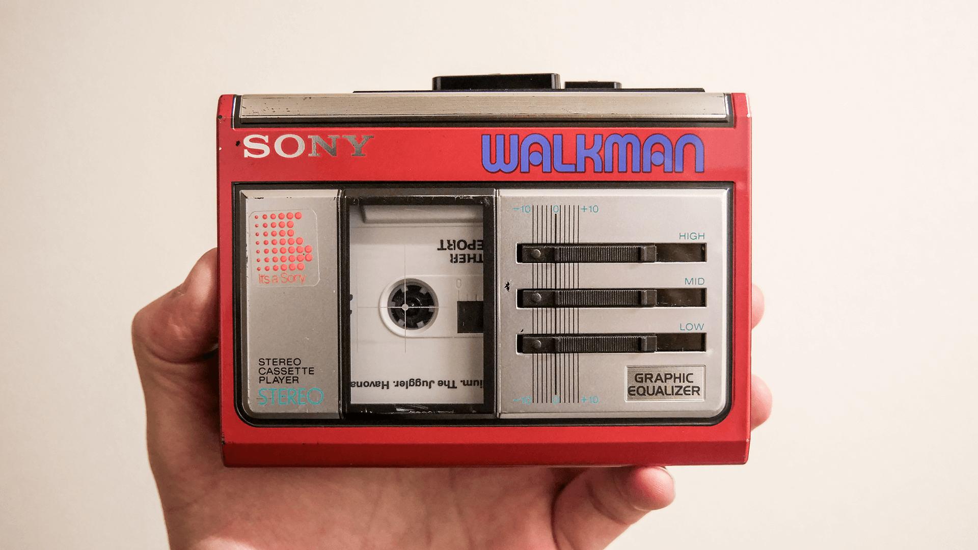 walkman wm-33の正面画像