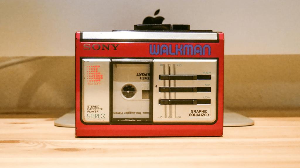 自分好みの音がつくれるカセットプレーヤーSONY WALKMAN WM-33