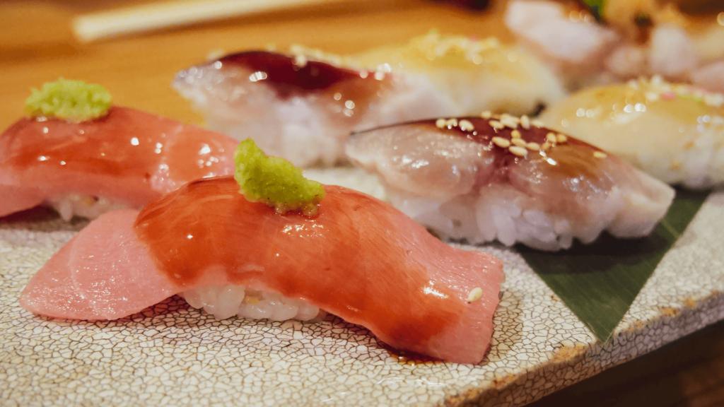 天王寺にあるsushi処まんまでワンランク上の寿司をつまむ