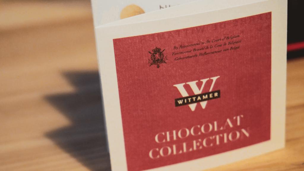 デザインからのブランディングがすごい。WITTAMERのチョコレートを食す