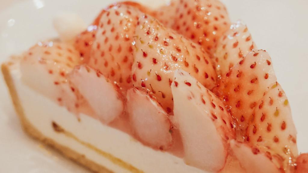 今年のホワイトデーは梅田にあるキルフェボンで白イチゴタルトを食す