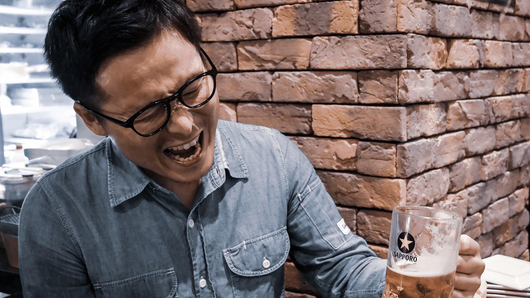 CM風のビール写真その2
