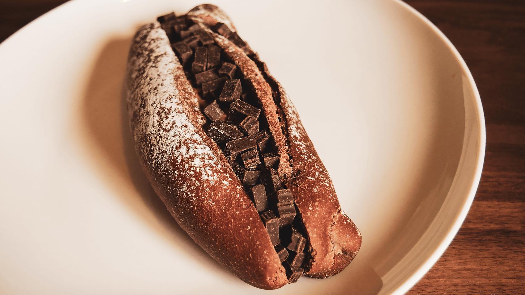 チョコフランスみたいなパンその1