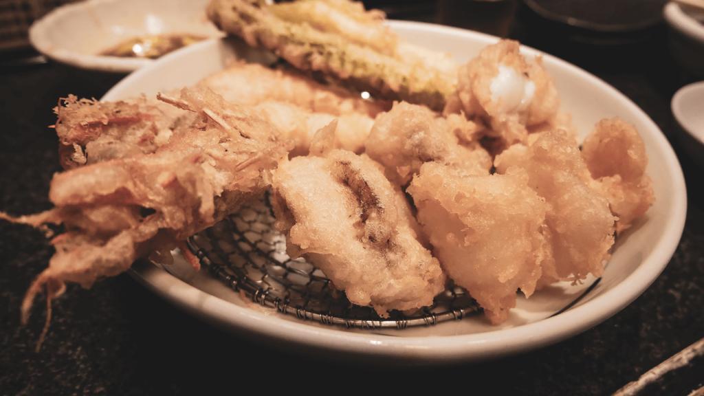 あの大吉で修行を積んだお店「まつりや」で天ぷらを食す